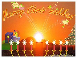Chrismukkah instead of Christmas cards - download for free